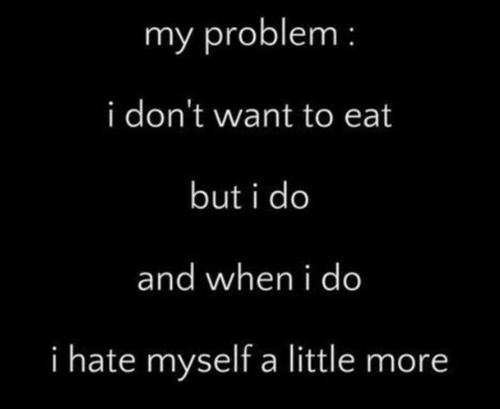 i hate myself quotes | hate myself. a little more each time