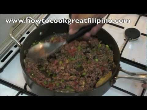 94 best filipino pinoy food recipe video images on pinterest giniling na baka filipino recipe pinoy minced beef philippines how to cook great forumfinder Gallery
