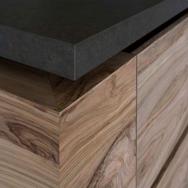 Best Wholesale High End Contemporary Wood Veneer Kitchen 640 x 480