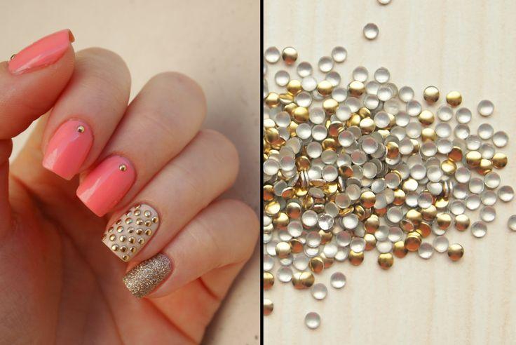 21 best Nail Art Supplies: Metal nail art studs images on Pinterest ...