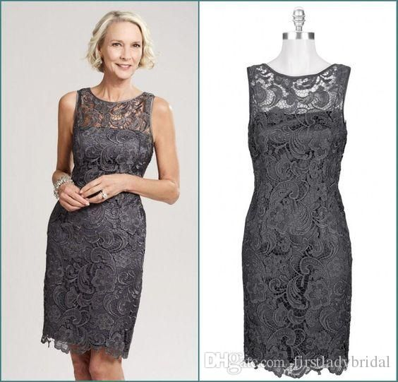 Never miss the chance to get the best short mother of the groom dresses,silk mother of the bride dressesand 2 piece mother of the bride dresses on DHgate.com. The cheap short mother of the bride dresses 2016 lace sheer crew neck sheath column wedding guest gowns grey mini sexy groom mothers dress is for sale in firstladybridal and buy it now!
