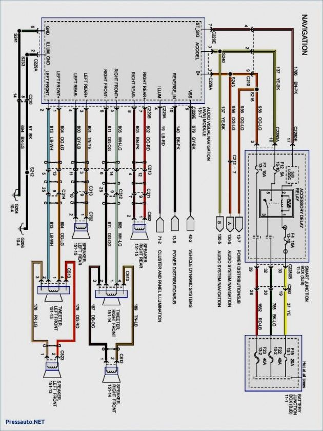 Wiring Diagram Of Motorcycle Honda Xrm 110 Ford Focus Car Ford