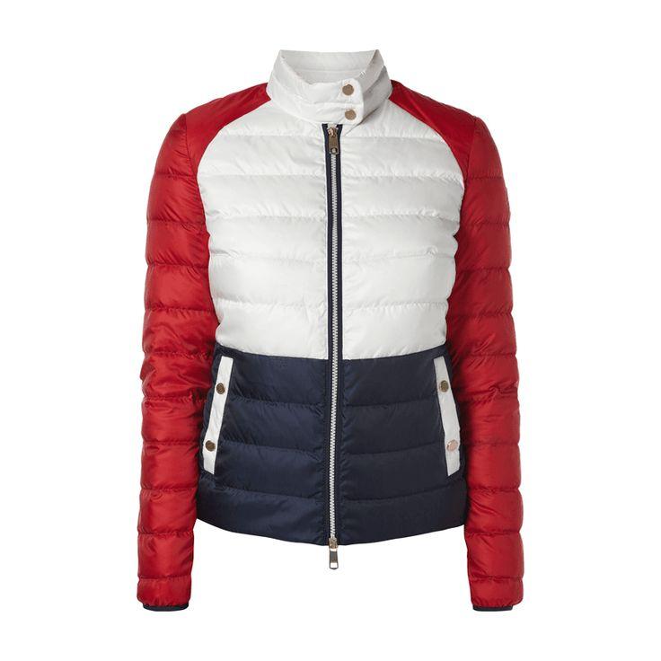 #Tommy Hilfiger Daunenjacke mit Logo-Farben für Damen #Bekleidung, #Damen,
