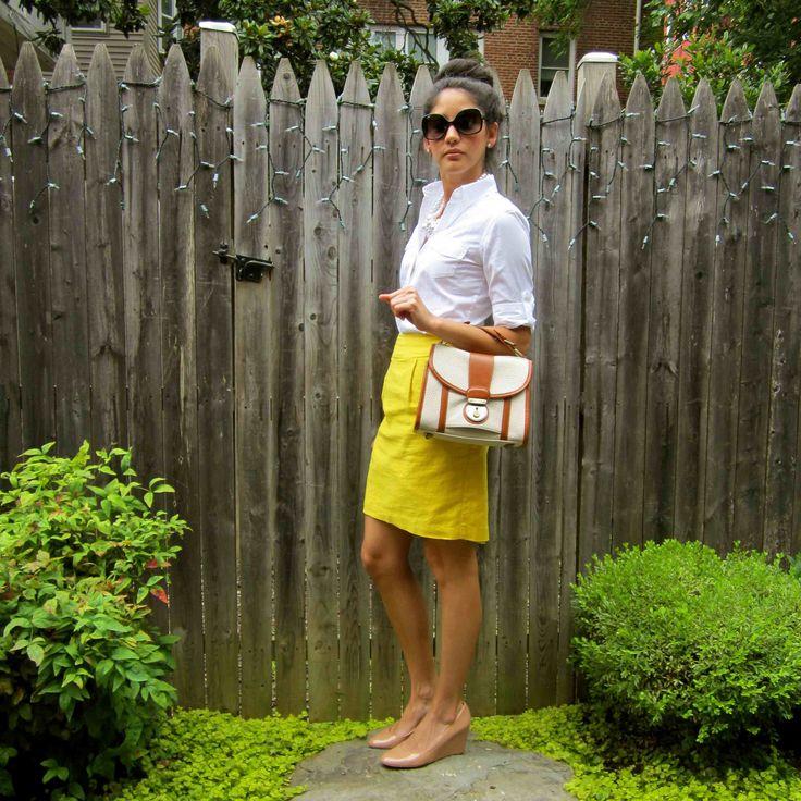 Yellow Skirt.