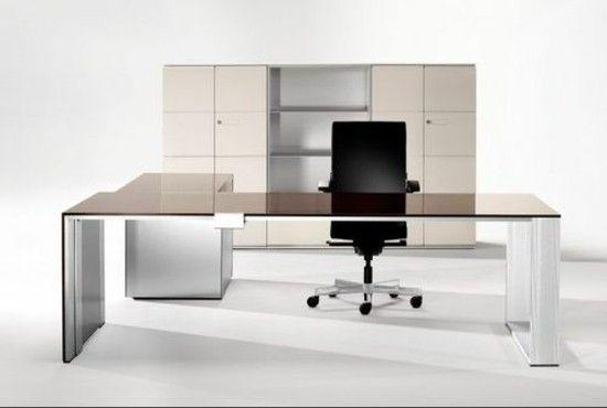 Modern office furniture, plain and Manimalistisch