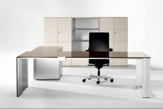 Modern office furniture, plain and Manimalistisch