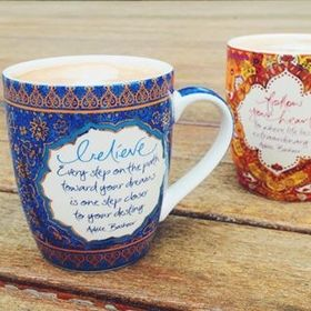 Inspirational Believe Mug | Intrinsic | Australian Gifts Online | threemadfish.com