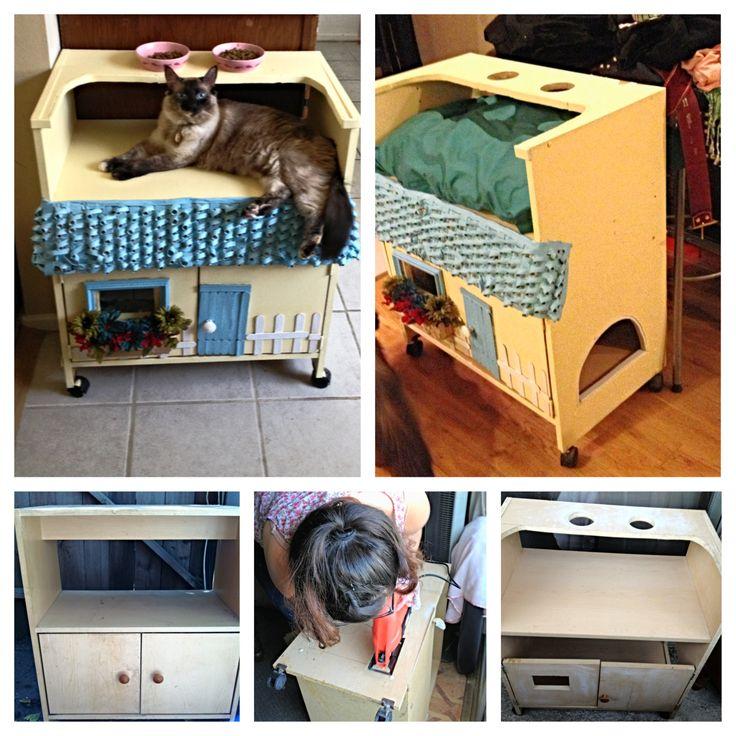 cat furniture litter box covers and litter box on pinterest cat litter box furniture diy
