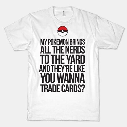 Spot your fellow pokemon nerds with this funny milkshake parody shirt.