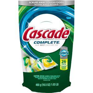 Cascade dishwasher detergent coupons 2018