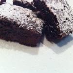 KB's Chewy Choc-Fudge Brownies