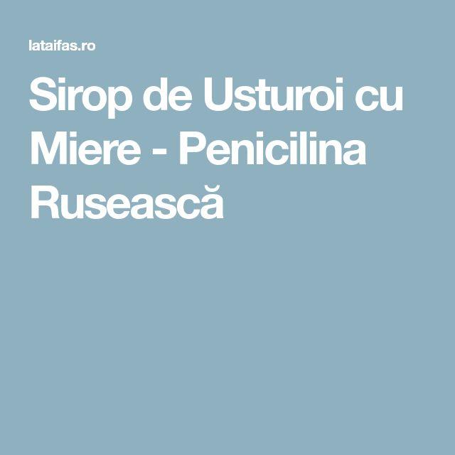 Sirop de Usturoi cu Miere - Penicilina Rusească