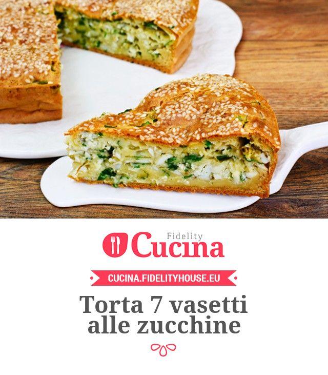 Torta 7 vasetti alle #zucchine