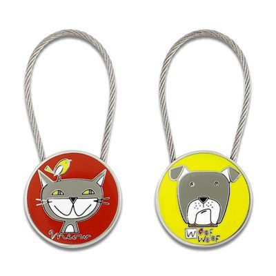 Acme Studio Cats & Dogs Key Ring