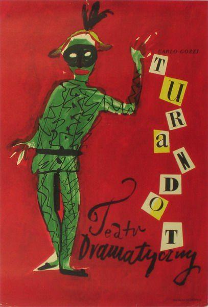 Turandot Turandot Tomaszewski Henryk Polish Poster