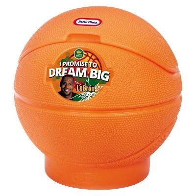 Little Tikes LeBron James Family Foundation - Basketball Toy Chest,