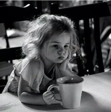 This will, most likely, be your child.   Monday morning, more coffee please.
