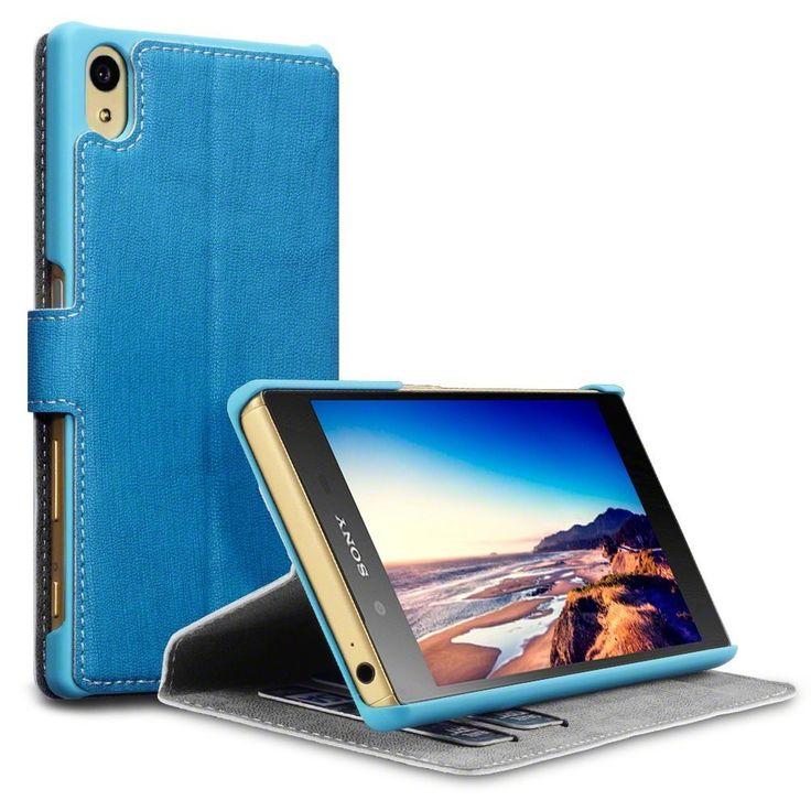 Terrapin Θήκη Πορτοφόλι Stand Case (117-005-387) Γαλάζιο (Sony Xperia Z5)