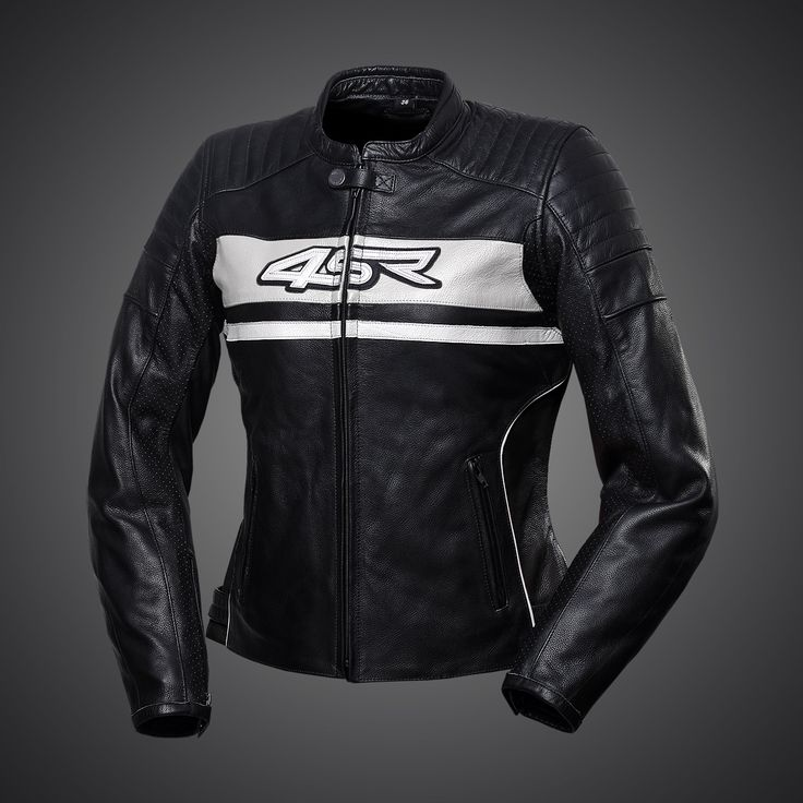 Women's Roadster Lady - Pearl White motorbike jacket was primarily developed for use on naked bikes and streetfighters.