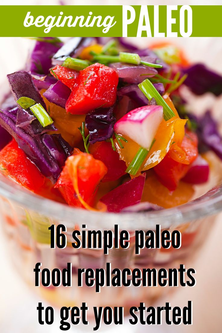 Beginning Paleo: 16 simple food replacements for breakfast, lunch, and dinner | Tipsaholic.com