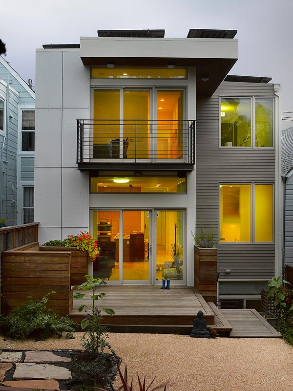 Zero Energy House in San Francisco by Levy Art & Architecture