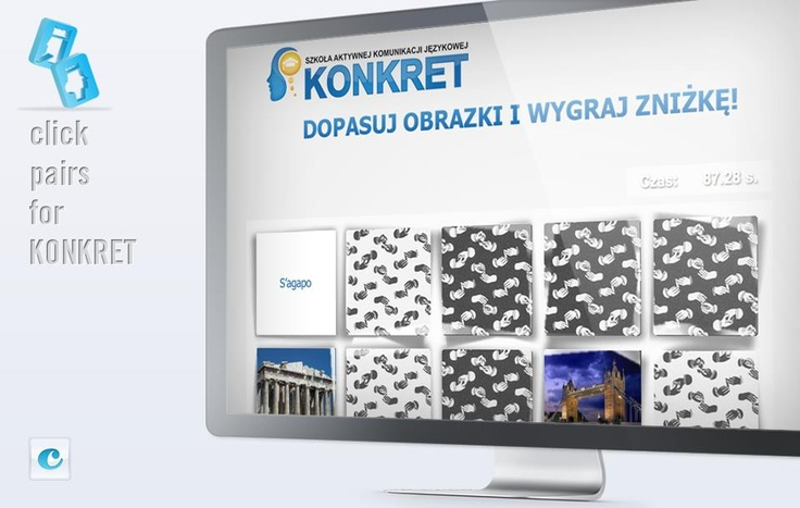 #Facebook Apps  click-apps.pl  #Click Pairs for #Konkret