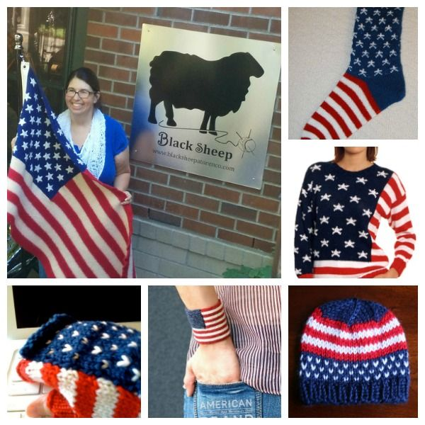 Patriotic Patterns for Fourth of July Knitting