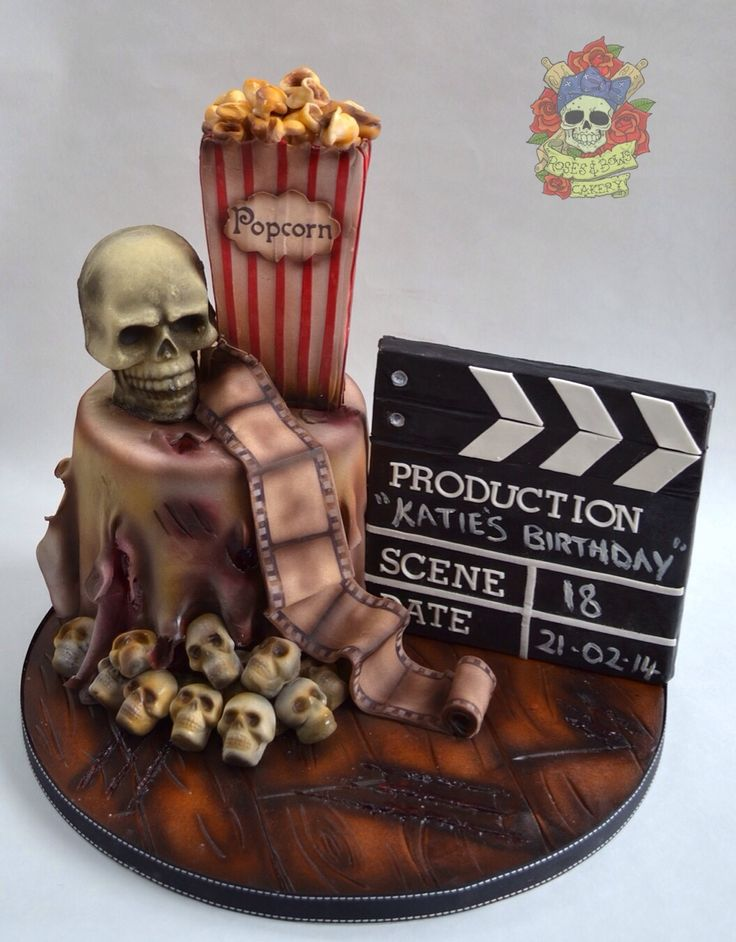 25 Best Horror Cakes Images On Pinterest Horror