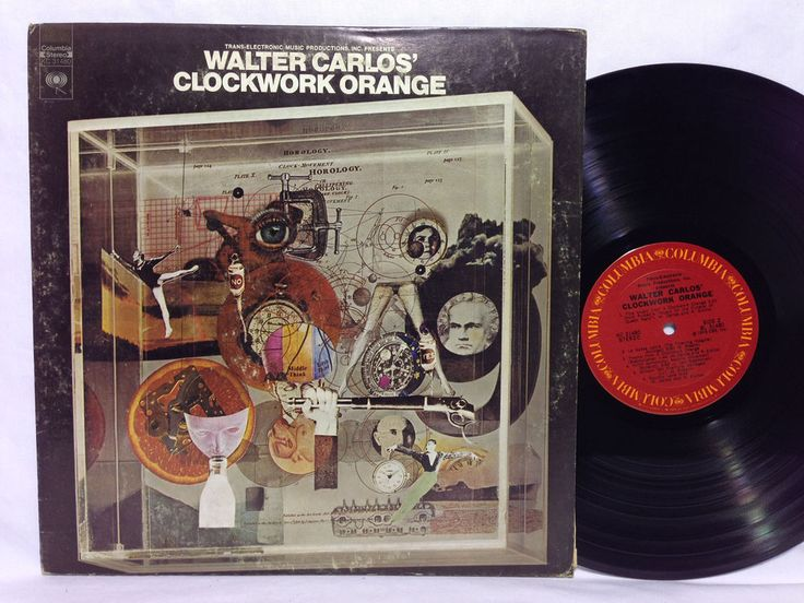 Walter Carlos Walter Carlos' Clockwork Orange Vinyl LP ...