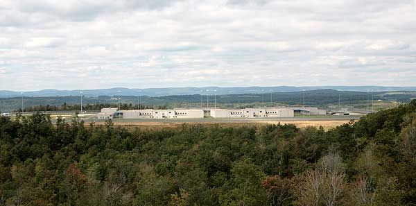 WV Hazelton Federal Prison  The maximum security federal prison is located just off the Hazelton exit on Interstae I-68, near the Maryland border.  The prison has over 1,600 inmates in the mountains of Preston County