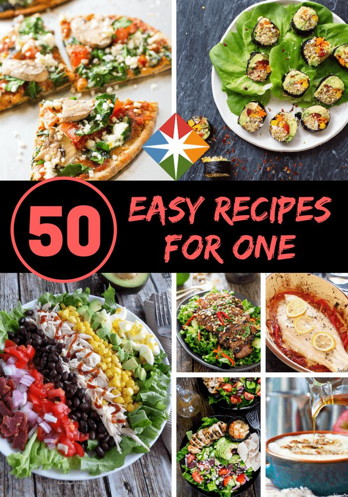 Easy one person meal recipes