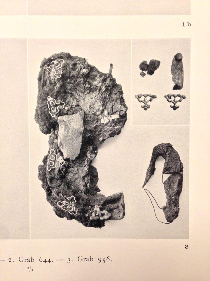 Fragment of a tarsoly from Birka (Birka BJ956).