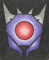 Decepticon Insignia - Shockwave (TFP) by LadyIronhide