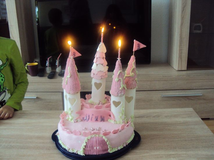 Princess castle birthday cake!