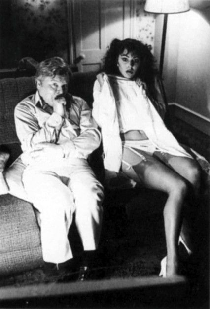 Benny Hill with the young (pre-FRASIER) Jane Leeves.