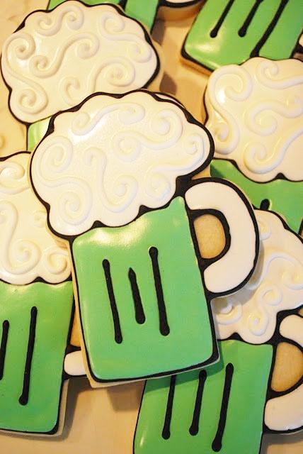 St. Patricks Day Cookies.