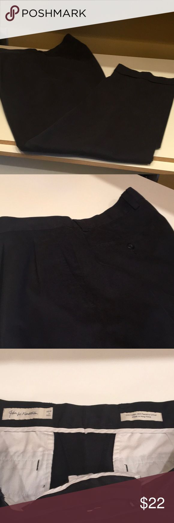 Men's Dress Slacks Nice pair of men's dress slacks. Fabric feels like a brushed suede silk....nice.Great condition, John W. Nordstrom Pants Dress