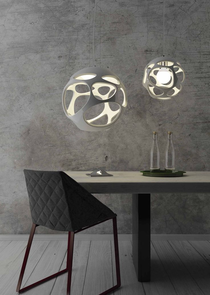 ORGÁNICA / new collection 2016 / pendant lamp / Produced by Mantra Iluminacion / Designed by Hugo Tejada