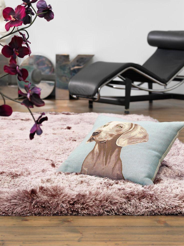 Romatischer Kuschel-Look: benuta Hochflor Teppich Bright lädt zum Schmusen ein #benuta #teppich #interior