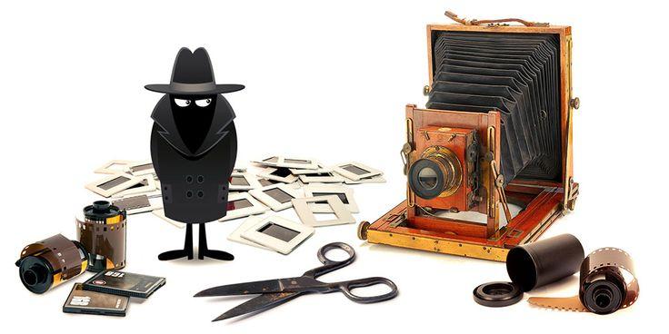 Klassiska fotobluffar och bildmanipulation - artikelserie från Moderskeppet.