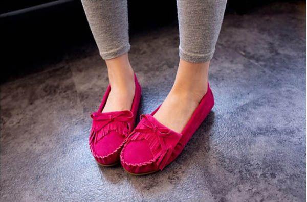 Горячая распродажа весна осень квартиры женская женские плоские каблук одного туфли женский кисточкой женщина свободного покроя туфли женская обувь для ходьбы