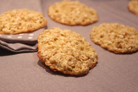 Biscuits à l'avoine (galettes suédoises)