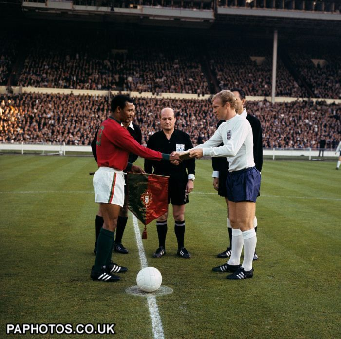Soccer - World Cup England 1966 - Semi Final - Portugal v England