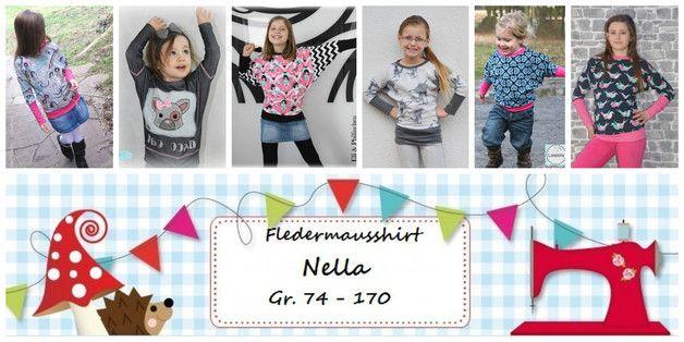 E Book Fledermausshirt Nella Gr.74-170