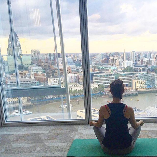 Namaste London @yogasphereuk #feedyoursoul #yoga #London #mindmatters #namaste #innerpeace