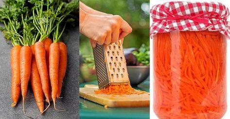 Gör hälsogott av dina morötter. Din mage kommer att tacka dig.