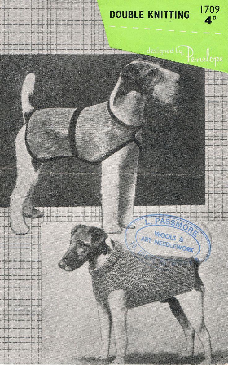 Mejores 8 imágenes de Dog Sweaters en Pinterest | Suéteres para ...