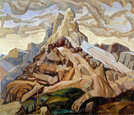 Lismer, Arthur - Le mont Cathedral - Musée des beaux-arts de Montréal
