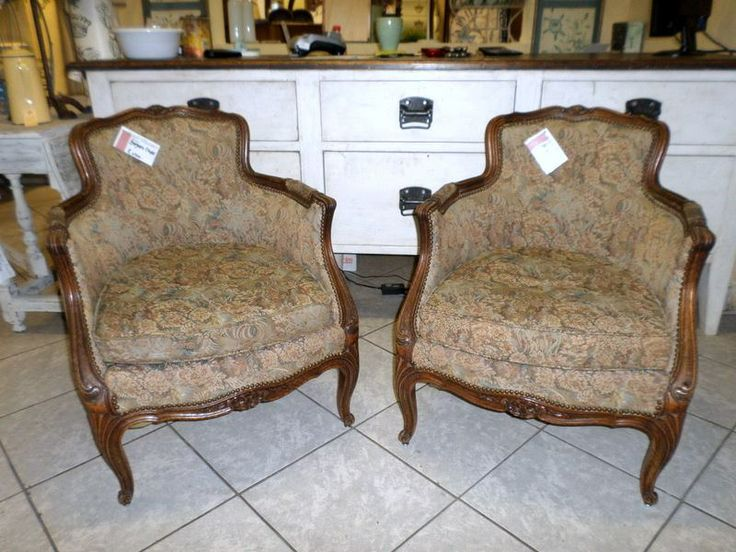Lovely pair of Bergere Chairs.