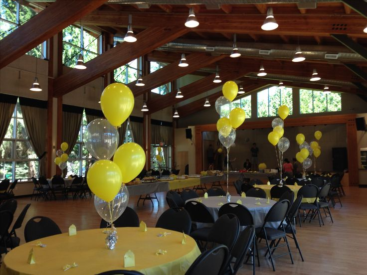 Table balloon bouquets